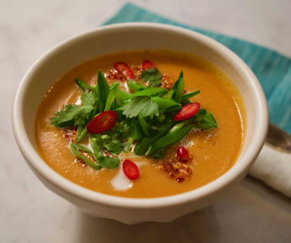 Thai Red Lentil Soup | Ottolenghi | Plenty More - Cookbooks On Repeat