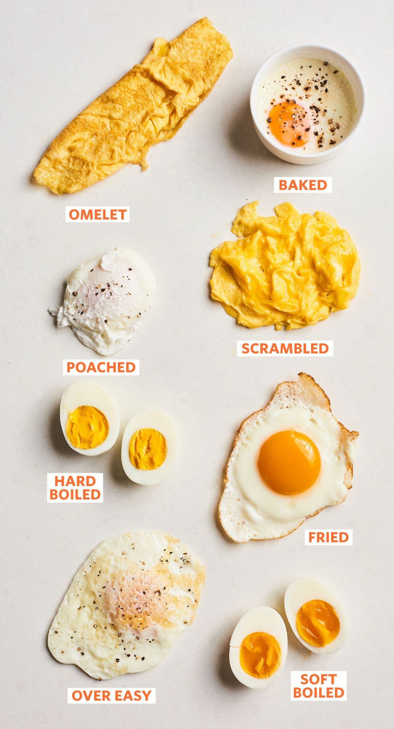 The 10 Essential Methods for Cooking Eggs (All in One Place) | How ...