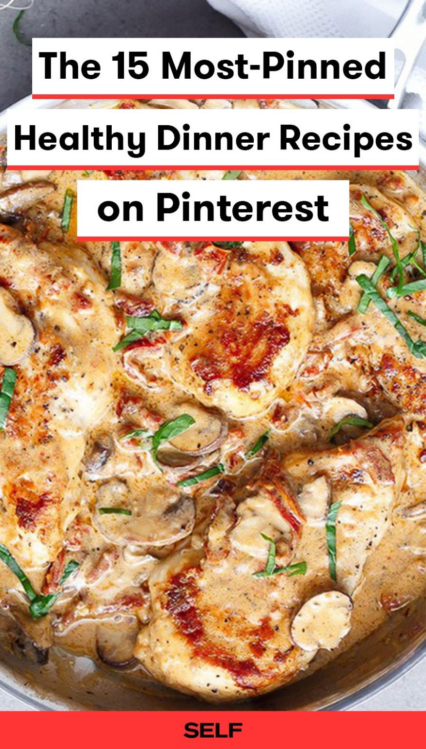 The 12 Most-Pinned Healthy Dinner Recipes on Pinterest | Healthy ..
