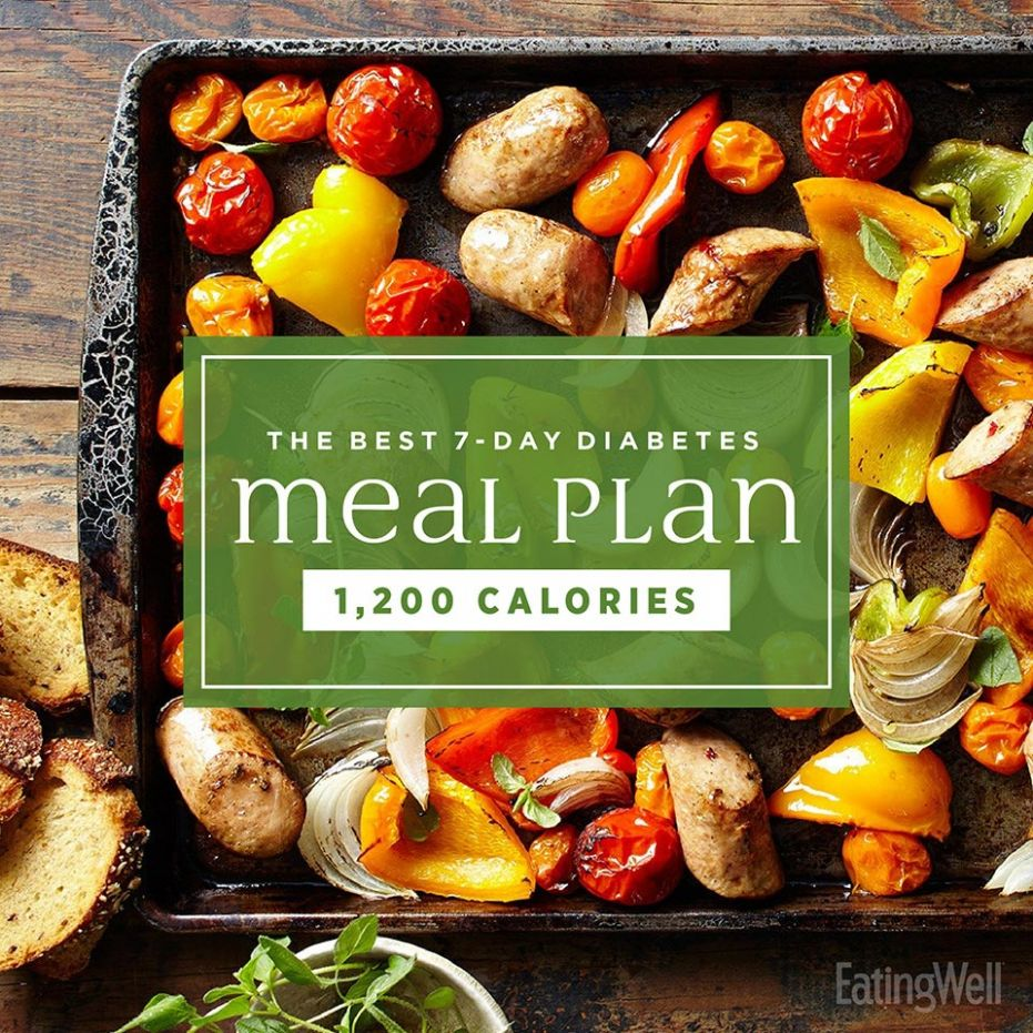The Best 9-Day Diabetes Meal Plan | EatingWell - Recipes For Weight Loss Diabetics