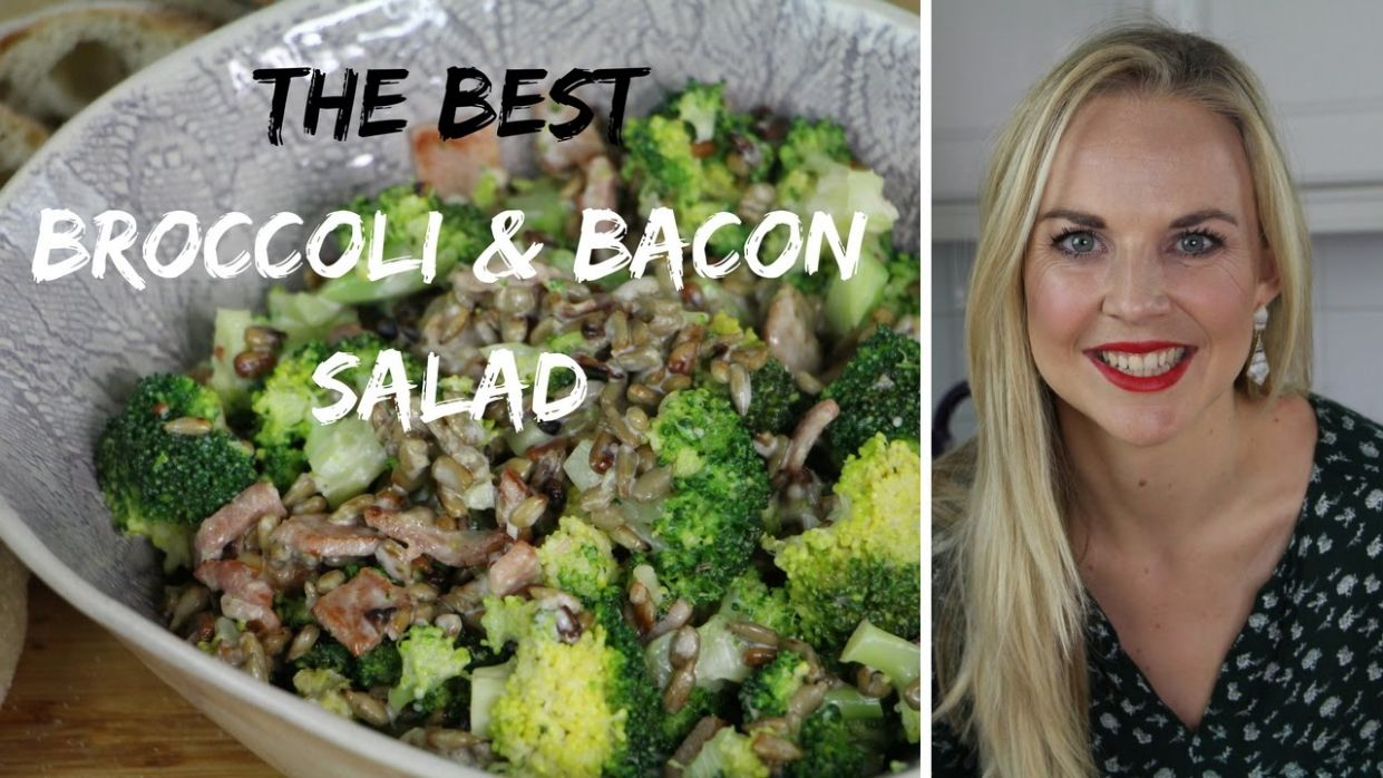 The BEST Broccoli & Bacon Salad Recipe - Salad Recipes On Youtube