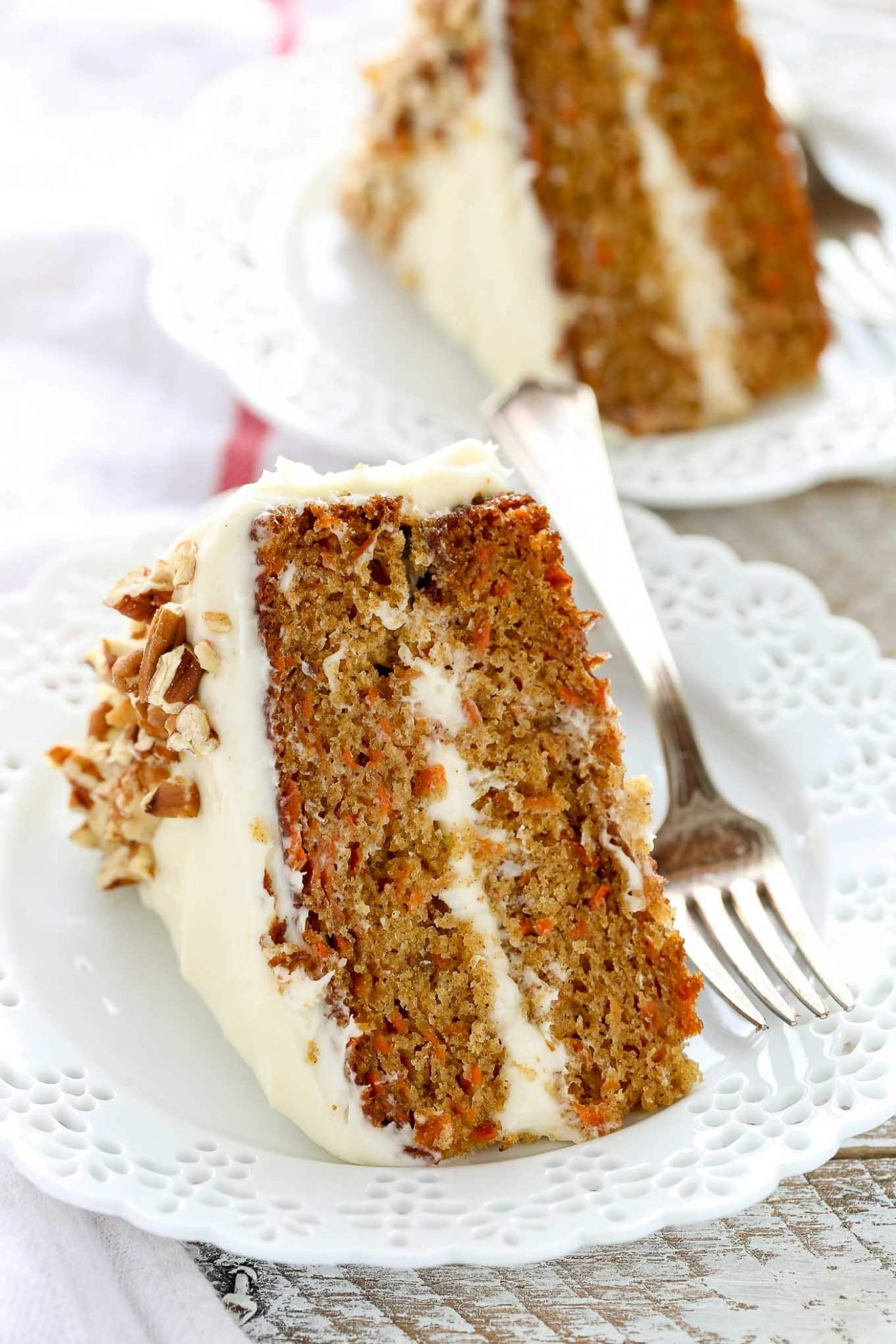 The BEST Carrot Cake with Cream Cheese Frosting - Simple Recipes Carrot Cake