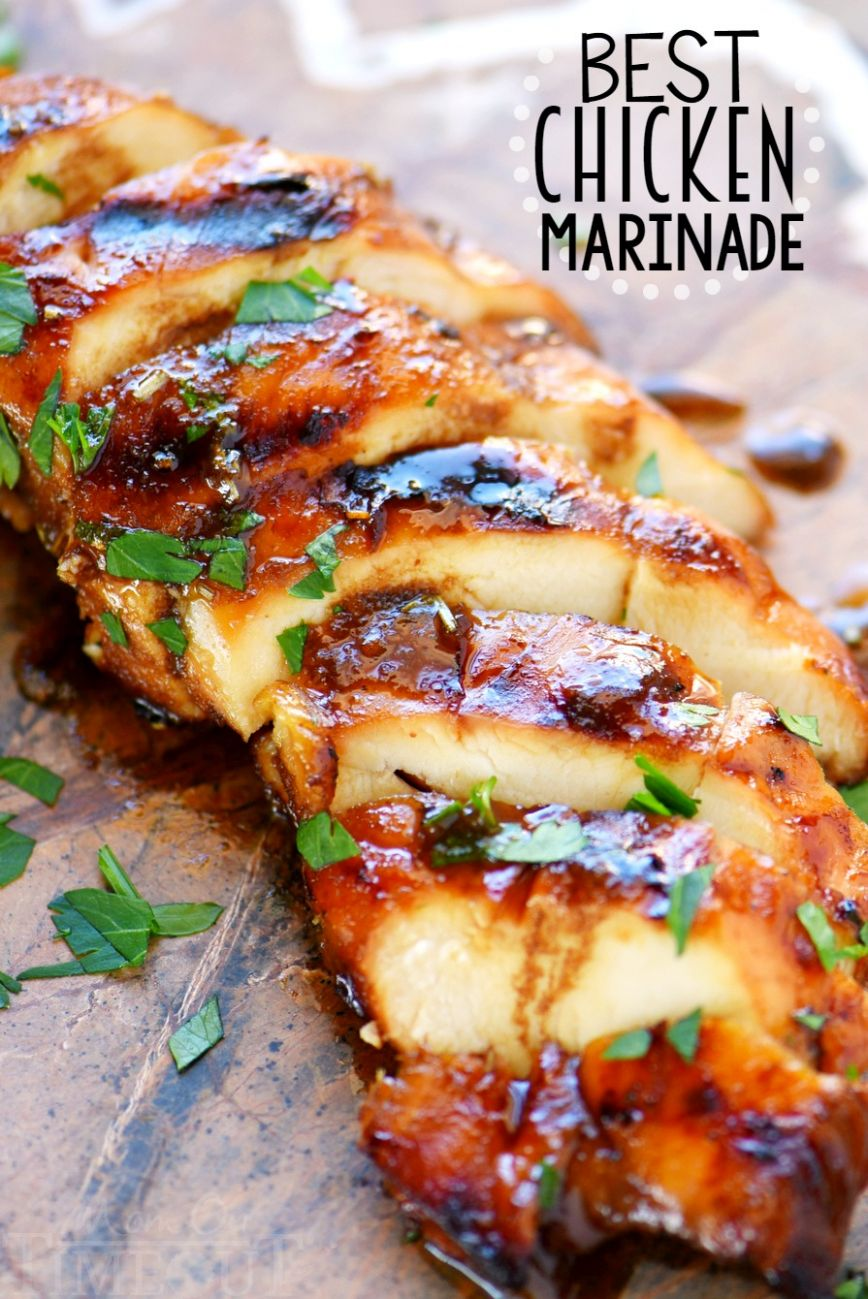 The BEST Chicken Marinade - Recipes For Chicken Breast Quick And Easy