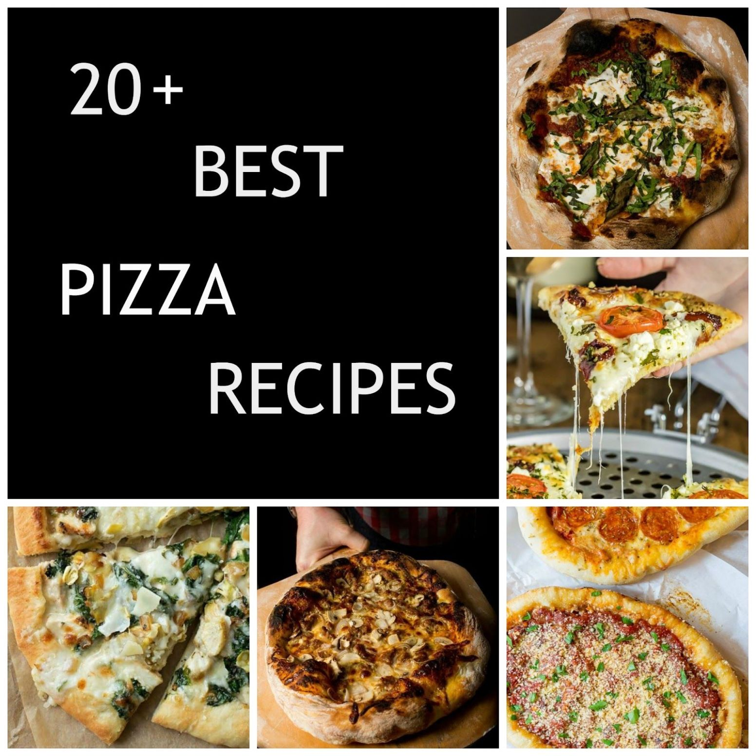 The best homemade pizza recipes Pinterest has to offer! | Pizza ..