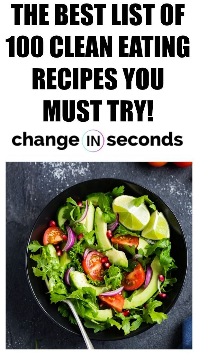 The Best List Of 12 Clean Eating Recipes You Must Try! Vegan ..