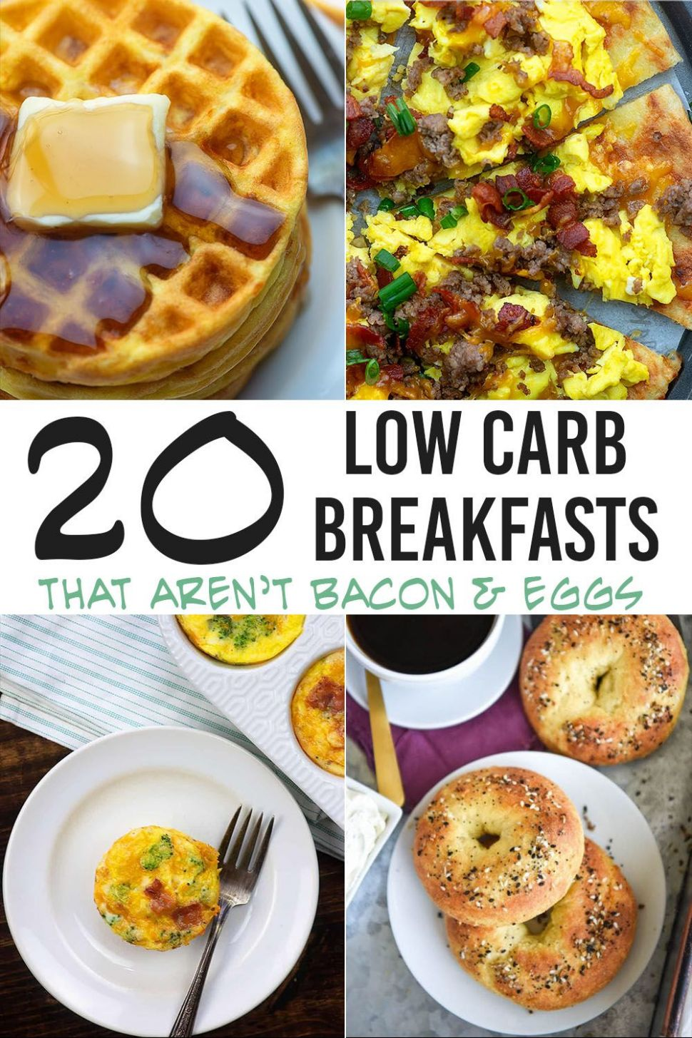 The BEST Low Carb Breakfast Ideas all in one spot! - Breakfast Recipes No Carbs