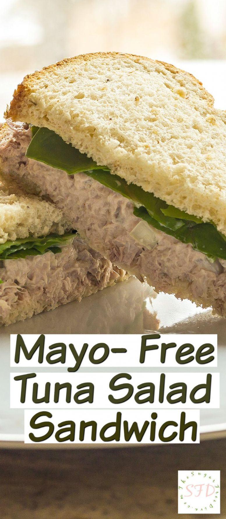 The Best Mayo-Free Tuna Salad Sandwich Ever… - Sandwich Recipes Low Cholesterol