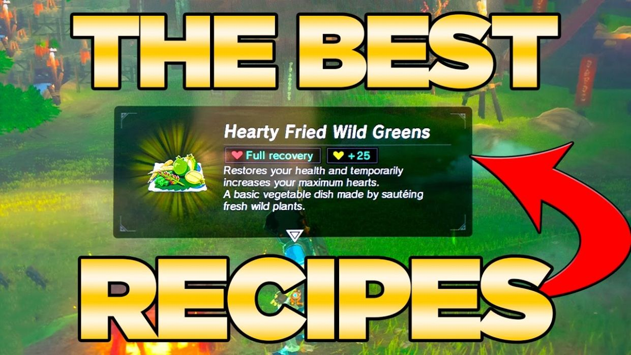 THE BEST Recipes GUIDE in Breath of the Wild - Best Dishes Cooked| Austin  John Plays - Cooking Recipes Zelda Breath
