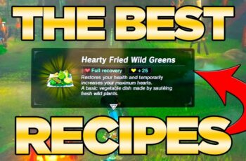 THE BEST Recipes GUIDE in Breath of the Wild - Best Dishes Cooked  Austin  John Plays