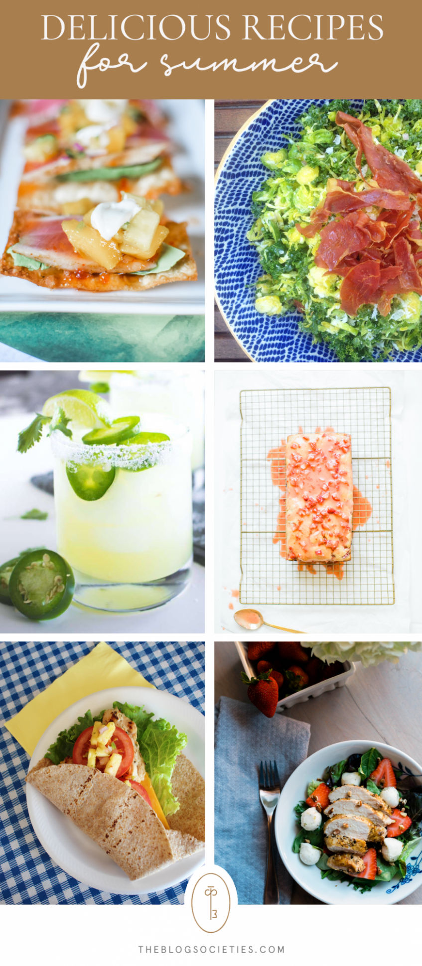 The Best Recipes To Try This Summer - The Blog Societies - Summer Recipes Blog