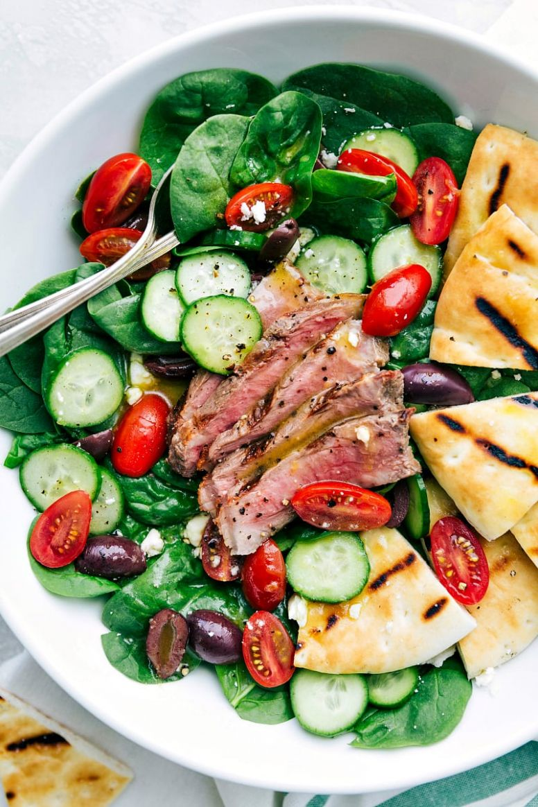 The BEST Steak Salad - Salad Recipes To Go With Steak