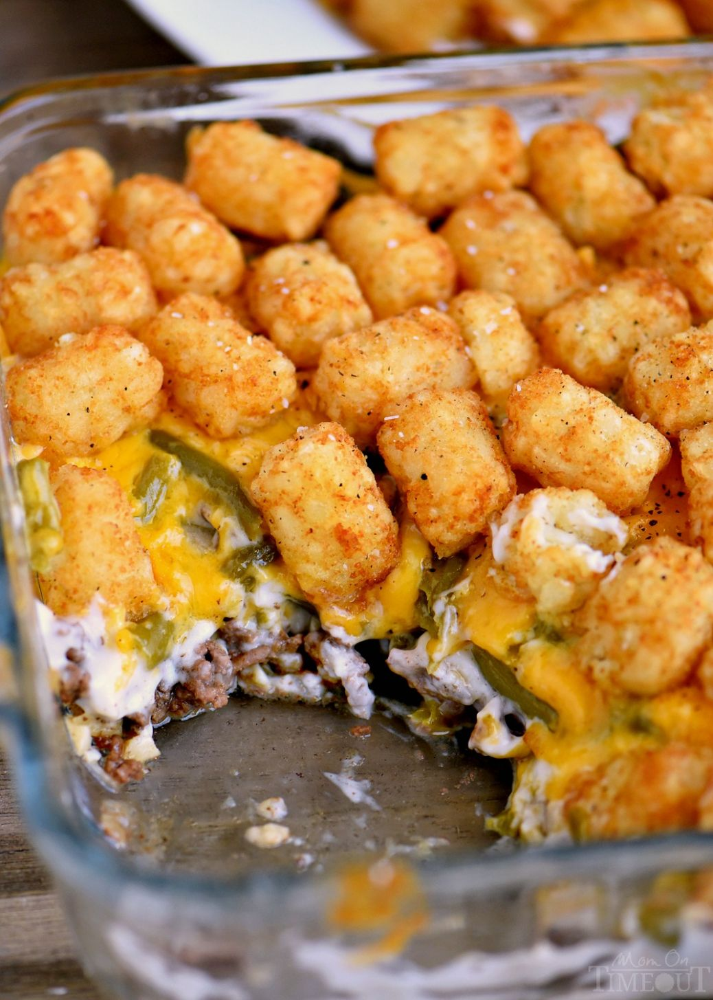 The BEST Tater Tot Casserole - Easy Recipes Made With Hamburger