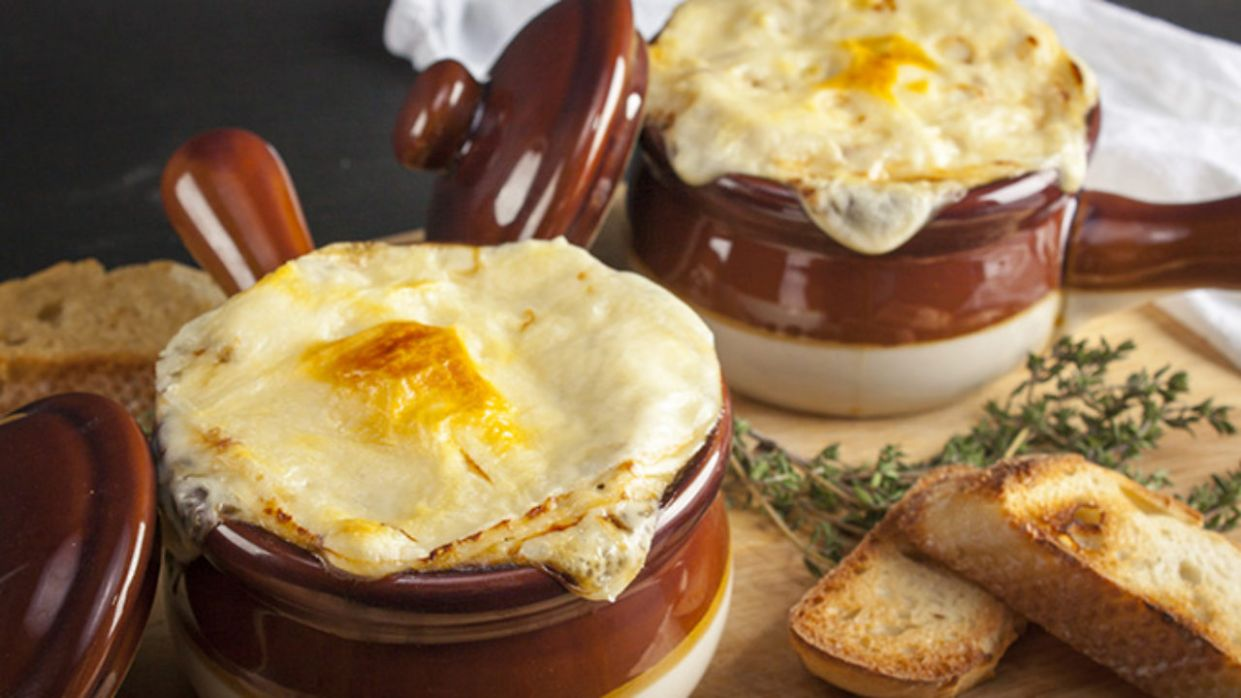 The Best Vegetarian French Onion Soup - Recipe Vegetarian French Onion Soup