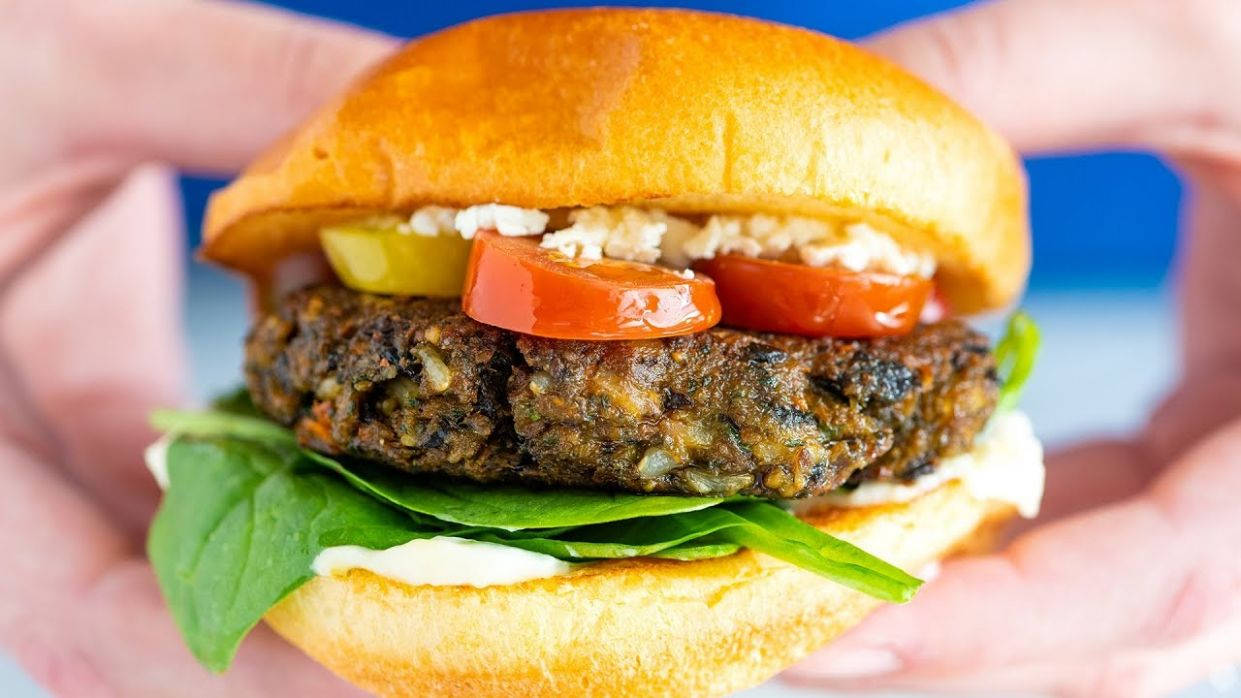 The Best Veggie Burger (Better Than Store-bought) - Recipes Vegetarian Patties