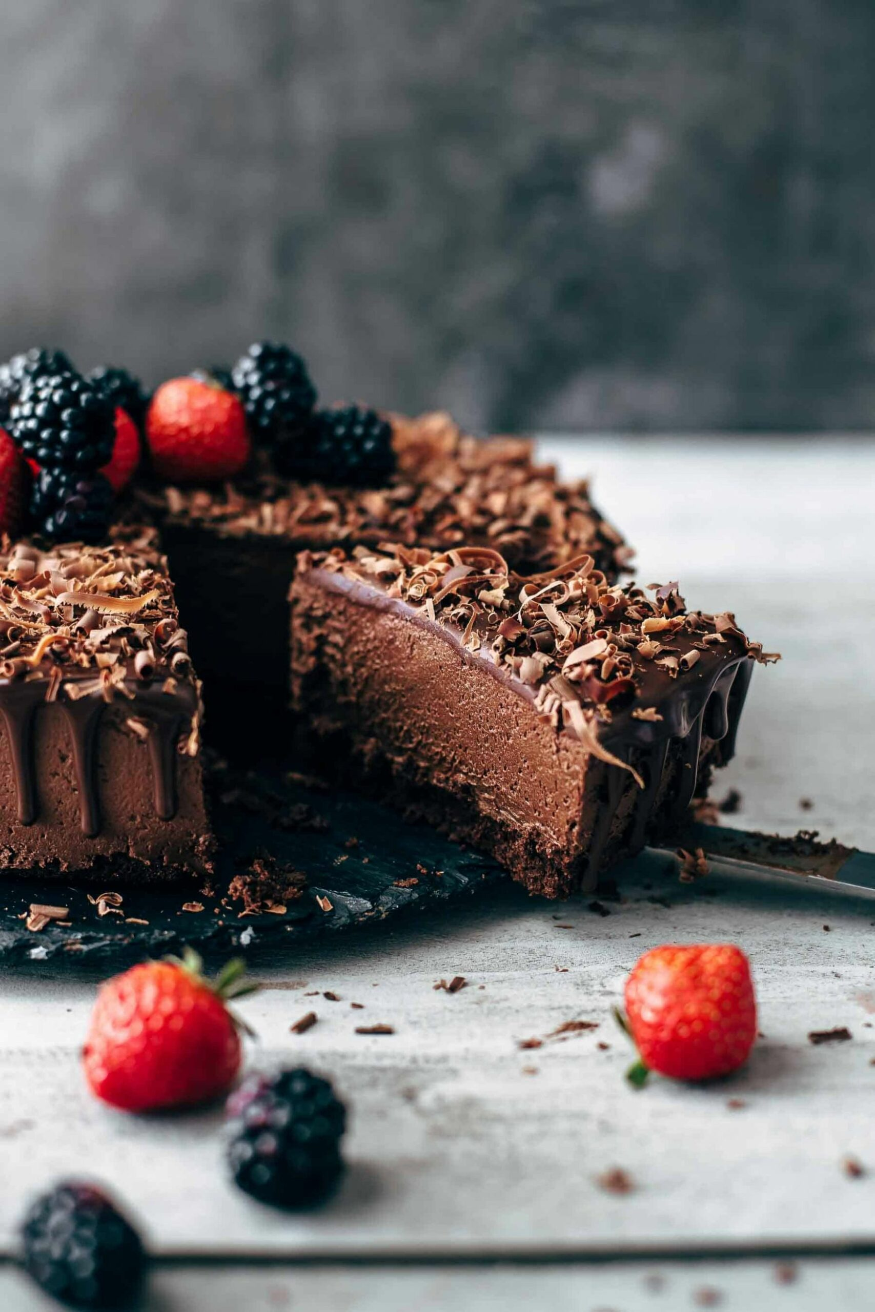 The Chocolate Mousse Cake Recipe - Cake Recipes Hard
