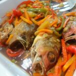 THE DENTIST IS IN THE KITCHEN: FISH ESCABECHE With A Hint Of PINEAPPLE – Recipe Fish Escabeche