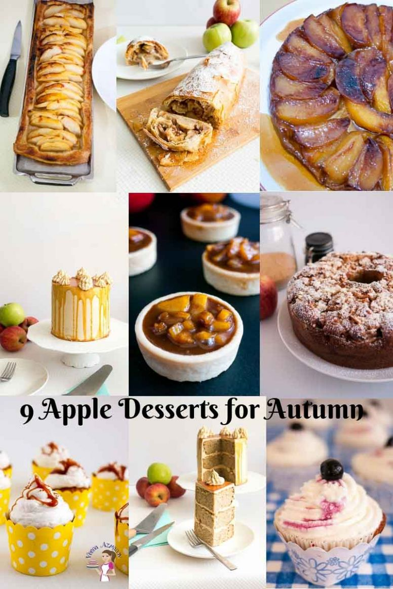 The Easiest Apple Recipes you can make this fall - Veena Azmanov - Dessert Recipes Autumn