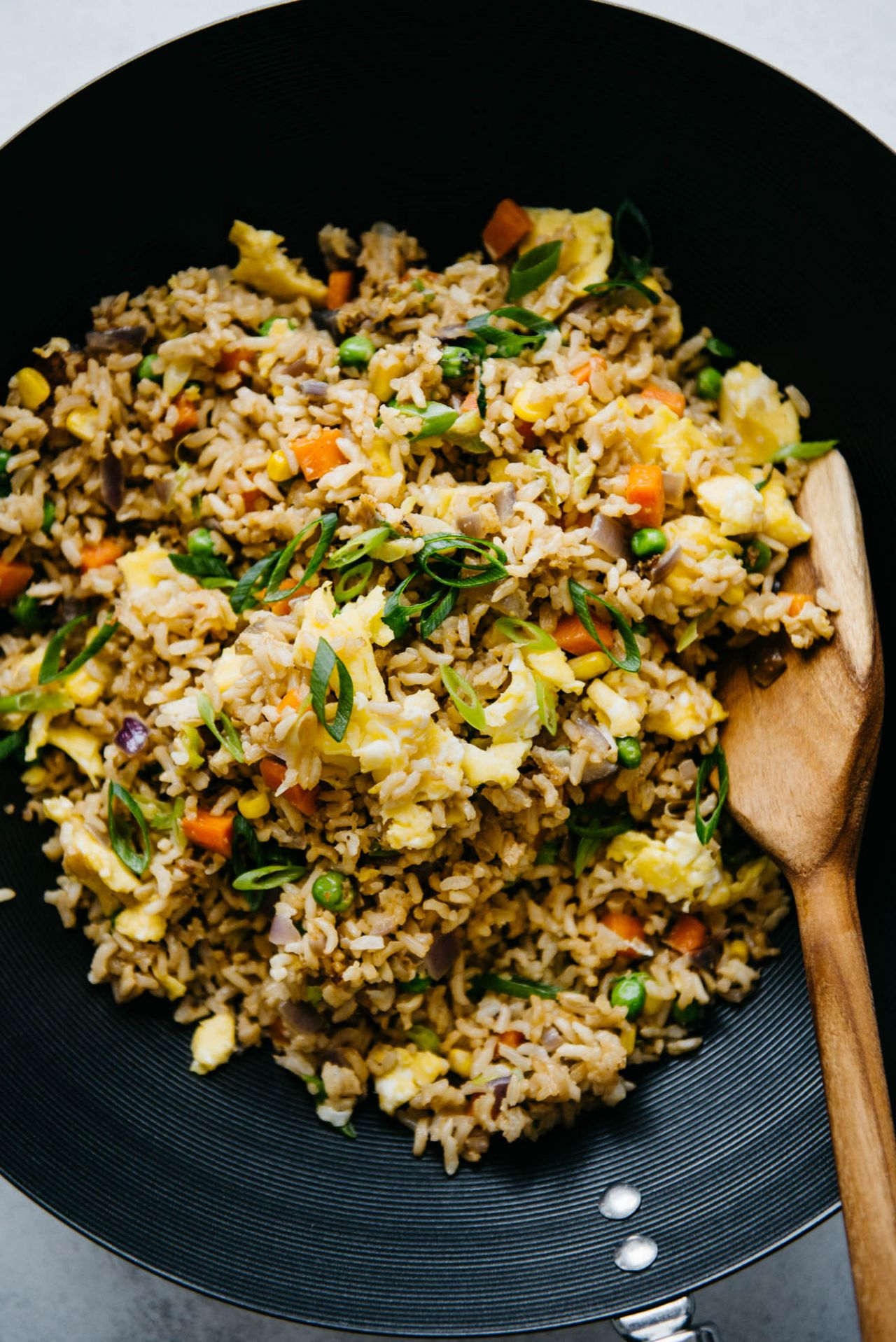 The Easiest Egg Fried Rice (9 Minutes)   Healthy Nibbles - Rice Recipes Healthy