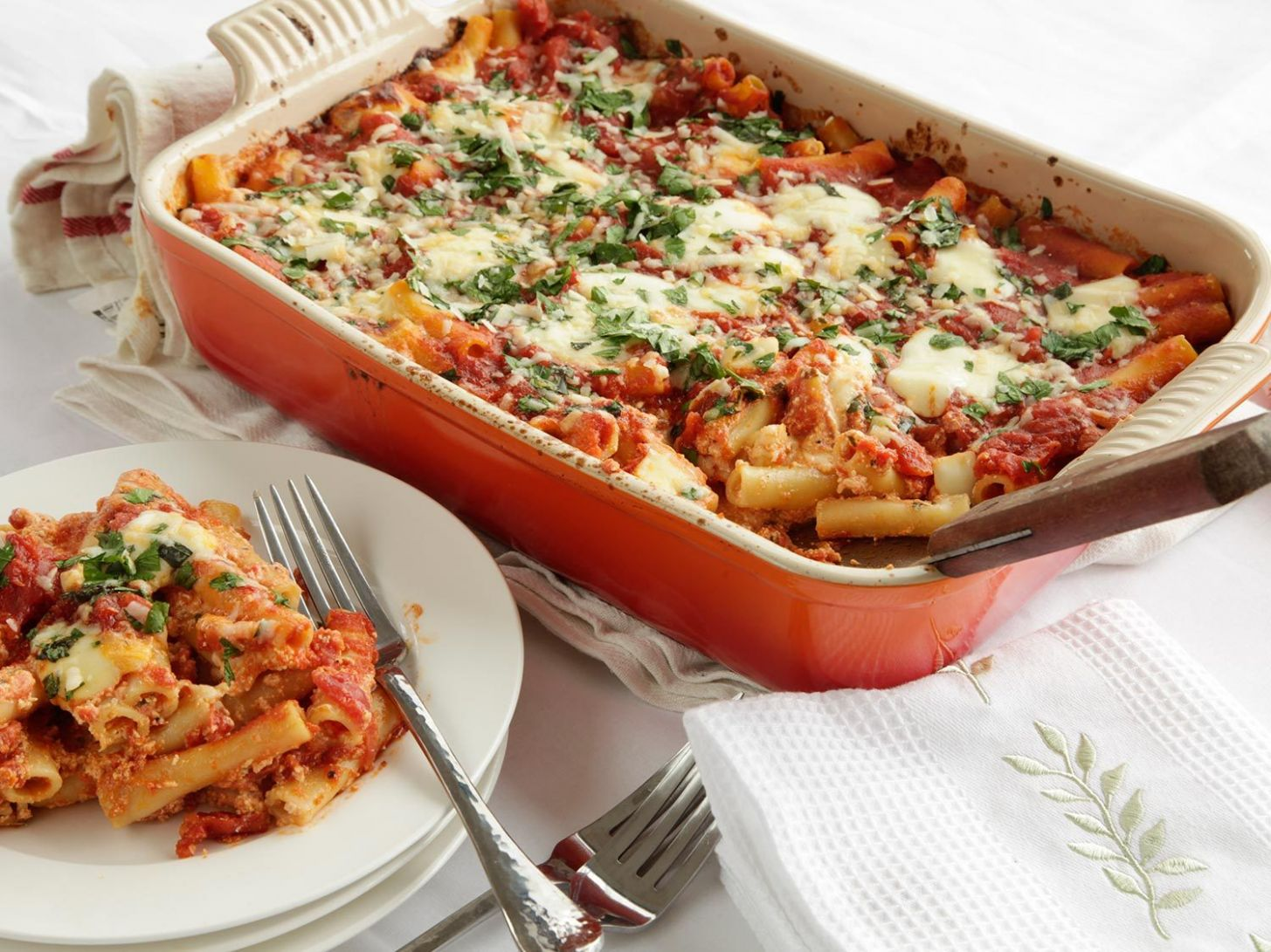 The Food Lab's No-Boil Baked Ziti Recipe