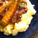 The Hirshon British Bangers And Mash With Onion Gravy – Mashed Potato Recipes Zimbokitchen