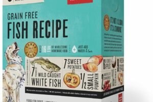 The Honest Kitchen Grain-Free Fish Recipe Dehydrated Dog Food, 9-lb box