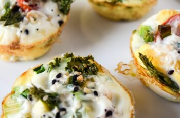 The Lazy Girl's Egg White Muffins