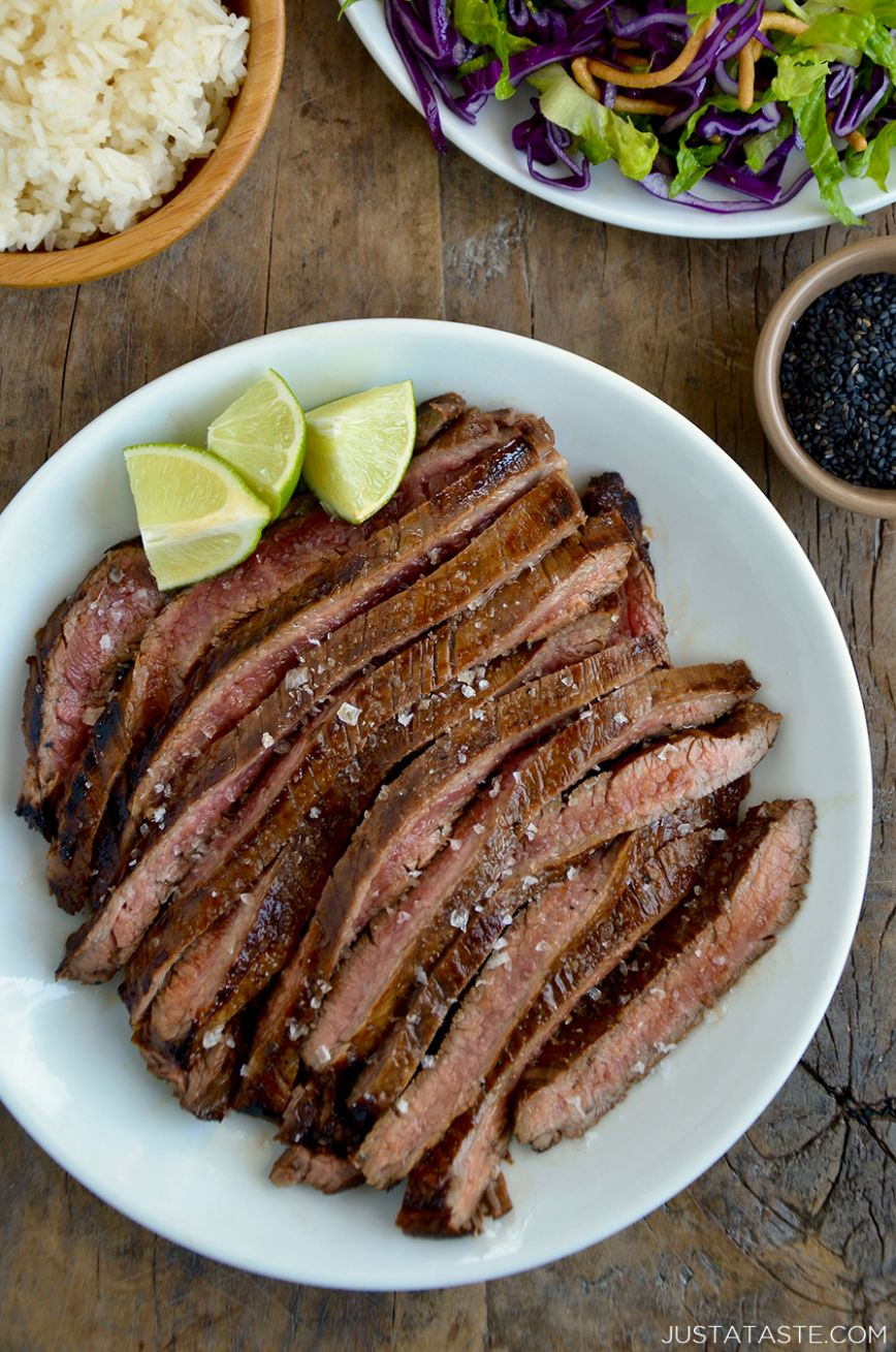 The Ultimate Asian Flank Steak Marinade - Recipes Beef Marinade