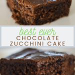 The Ultimate Chocolate Lover's Chocolate Zucchini Cake | Little ..