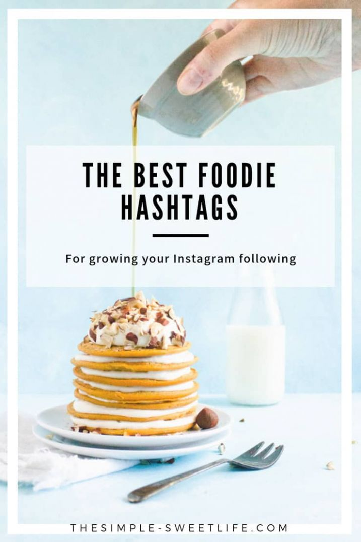 The Ultimate Guide to Hashtags for Food Bloggers - The Simple ..