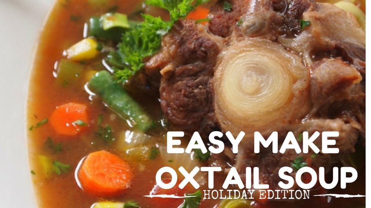 The Ultimate Oxtail Soup Recipe! l IN DA KITCHEN l HOLIDAY EDITION - Recipes Oxtail Soup