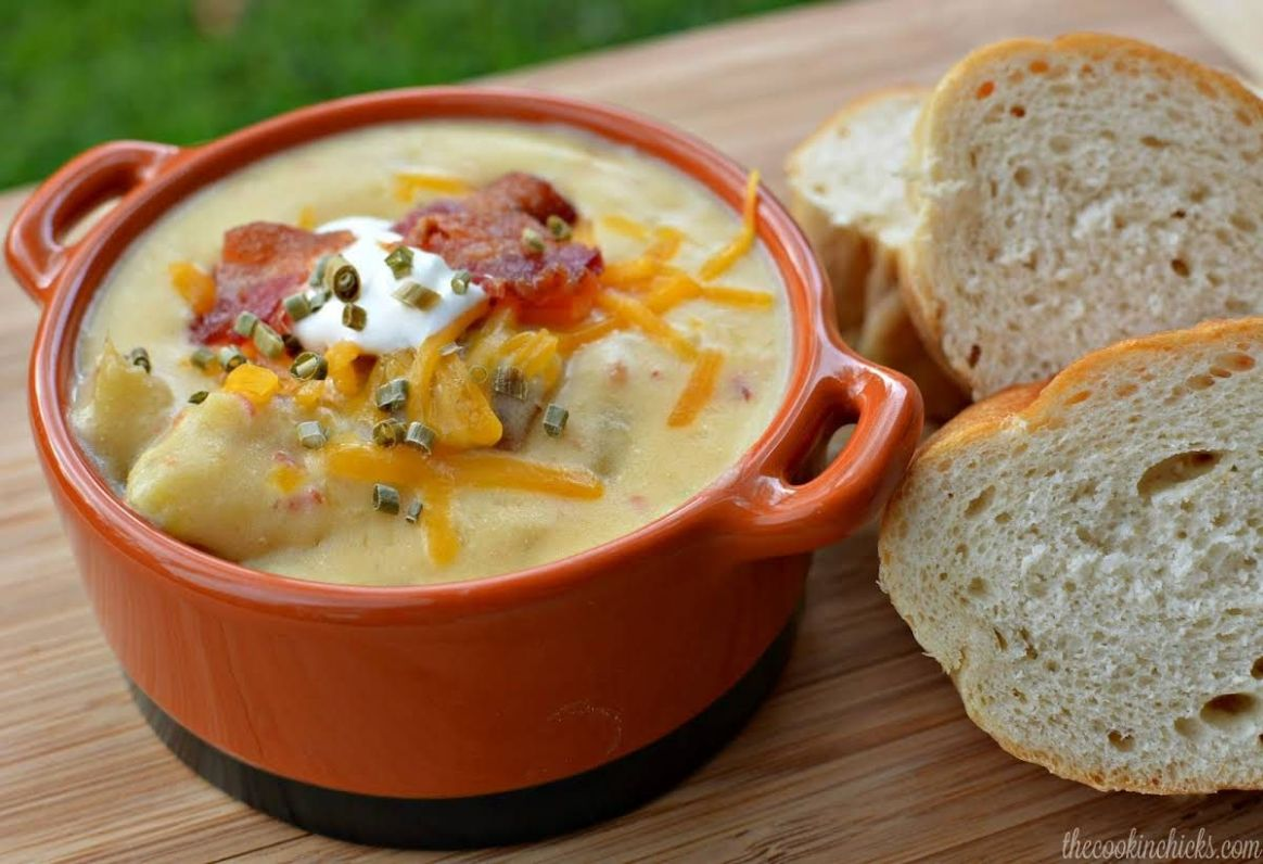 The ULTIMATE Potato Soup - Soup Recipes Yummly