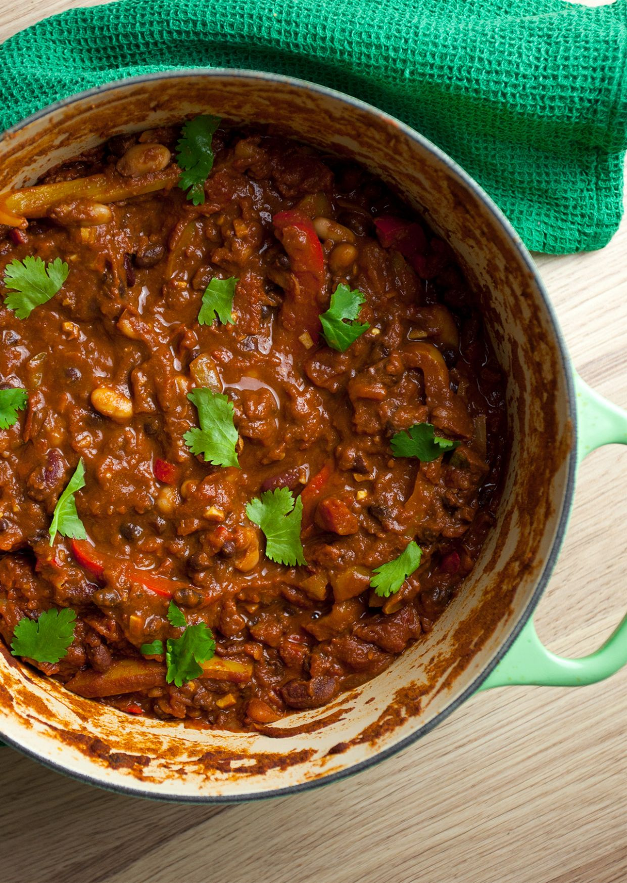 The Ultimate Vegan Chilli - Recipes Vegetable Chilli