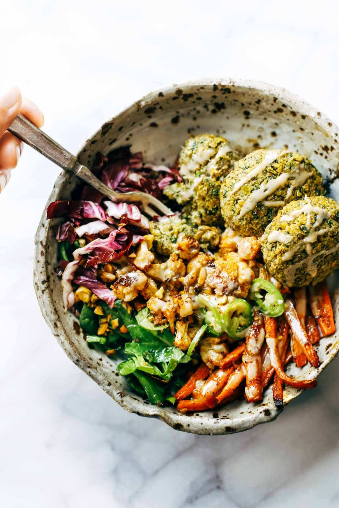 The Ultimate Winter Bliss Bowls Recipe - Pinch of Yum - Recipes Vegetarian Winter