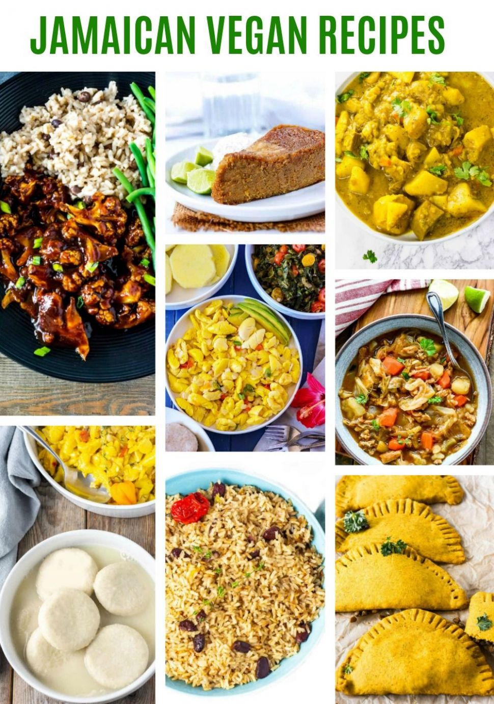 These amazing Jamaican Vegan Recipes are a must try. Enjoy my ..