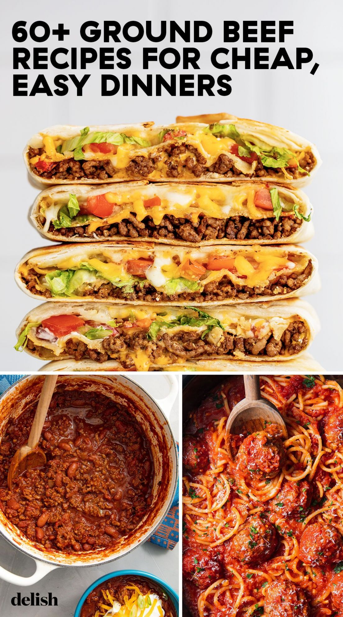 These Budget-Friendly Ground Beef Recipes Are Easy To Make And SO ..
