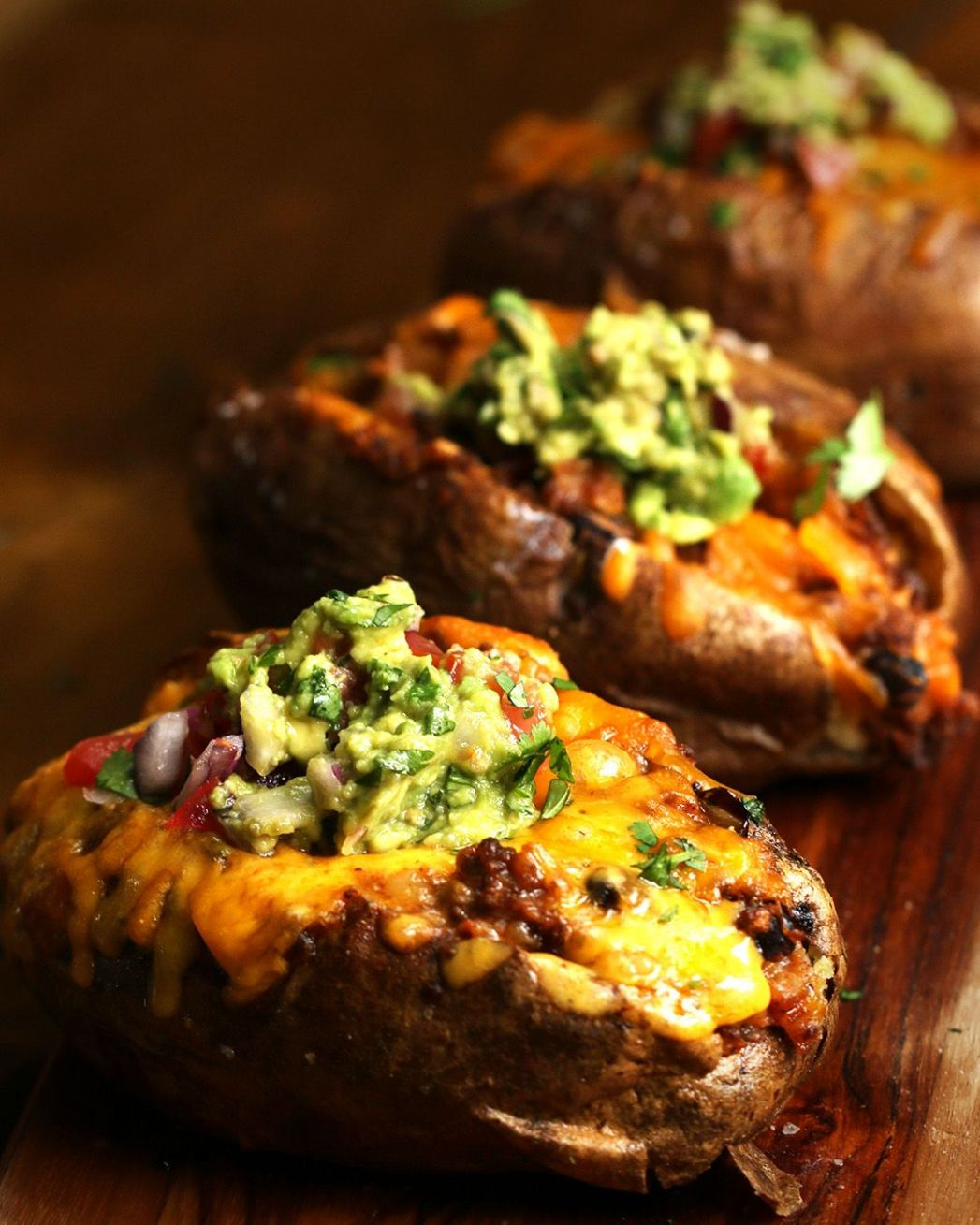 These Loaded Baked Potatoes Four Ways Will Put Your Regular Old ..