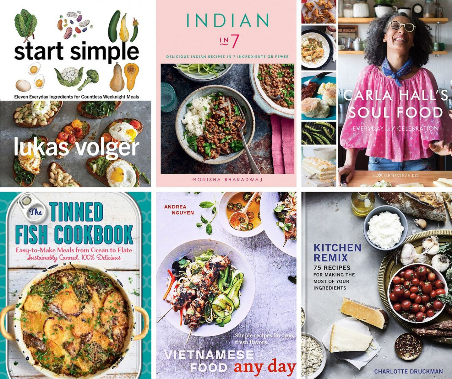 These pantry-friendly cookbooks will inspire you during the ..