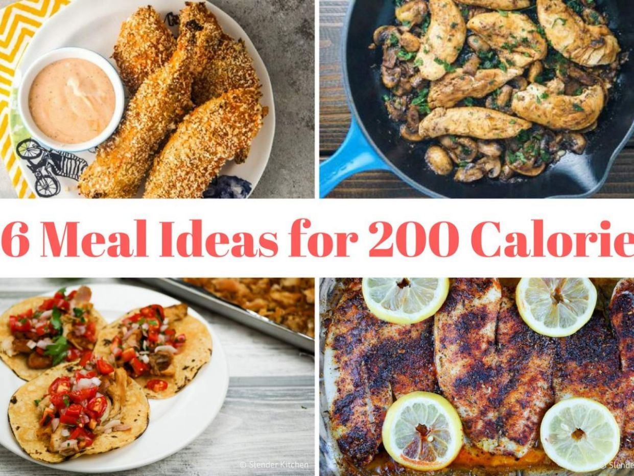 Thirty Six Recipes for 11 Calorie Meals - Slender Kitchen - Salad Recipes Under 200 Calories