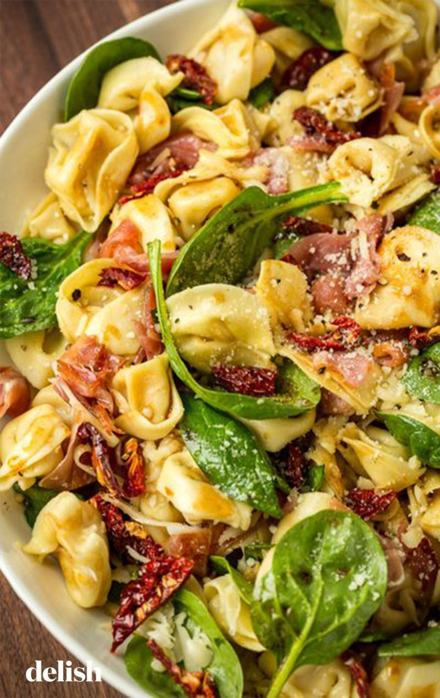 This easy tortellini salad is our favorite pasta salad to bring to ..