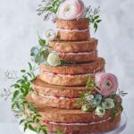 This Five Tier Vanilla Wedding Cake From Waitrose Can Be Decorated ..