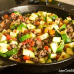 This Low Carb Mexican Zucchini And Ground Beef Recipe Is A Simple ..
