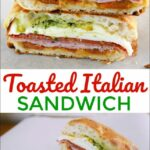 Toasted Italian Sandwich – Food Fun Friday – Mess For Less – Sandwich Recipes On Ciabatta Bread