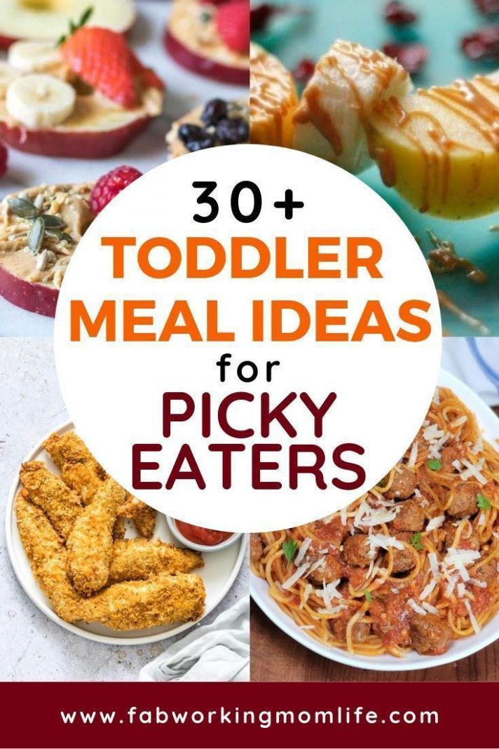 Toddler meals for Picky Eaters - 8+ quick and easy toddler ...