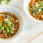 Tofu & Vegetable Udon Noodle Soup – Recipe Vegetarian Udon Noodle Soup