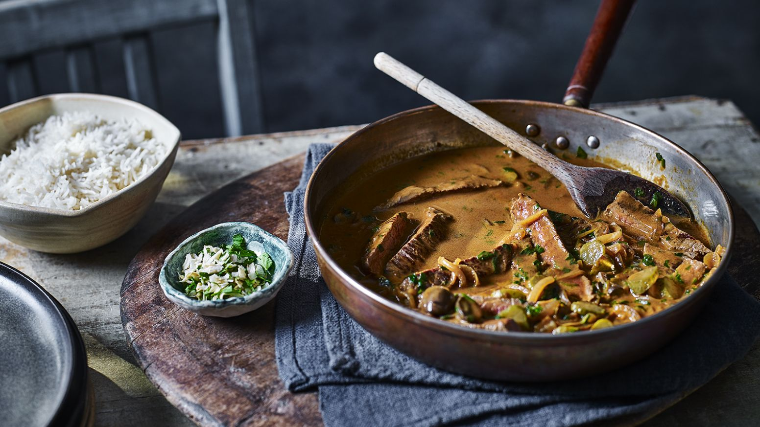 Tom Kerridge's beef stroganoff