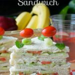 Tomato Cucumber Veggie Sandwich – Recipes Of Sandwich In English