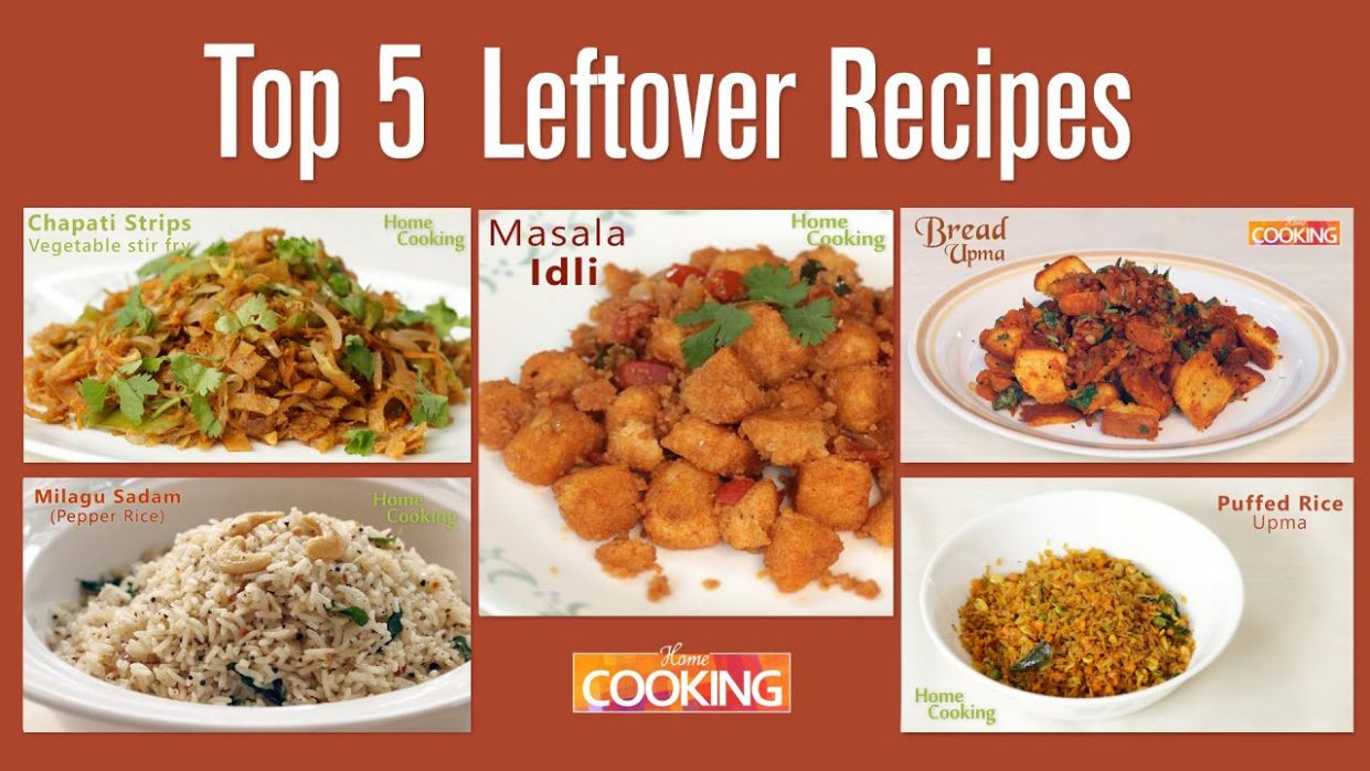 Top 10 - Awesome Recipes from Leftover Foods - Home Cooking - Recipes Home Cooking