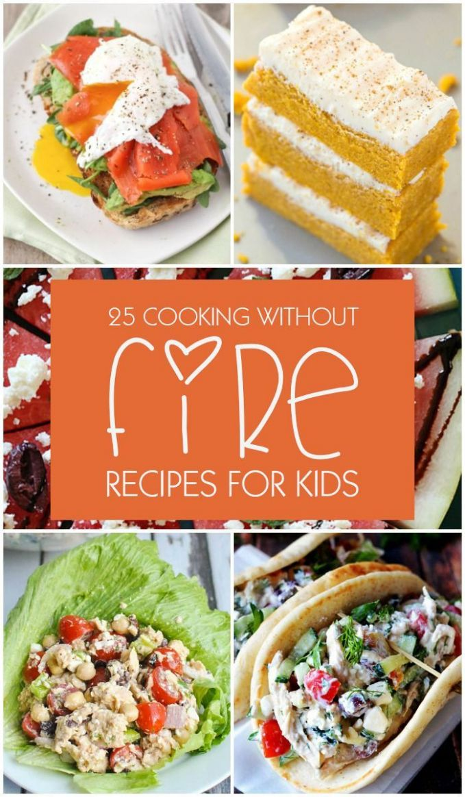 Top 10 Cooking Without Fire Recipes for Kids | Kids cooking ..