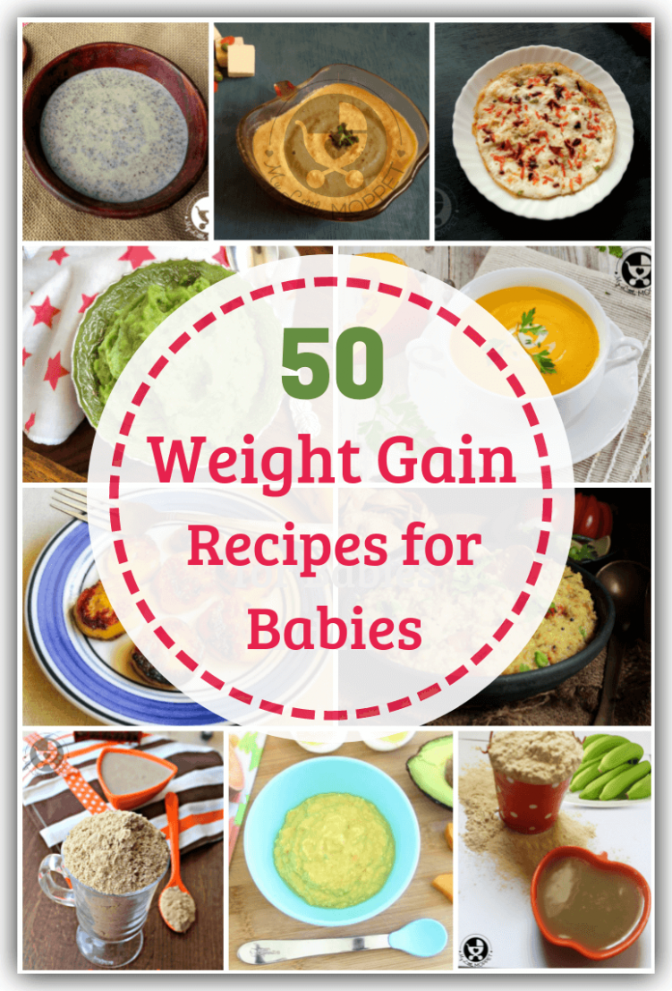 Top 10 Weight Gain Recipes for Babies Under One - My Little Moppet - Food Recipes For Babies