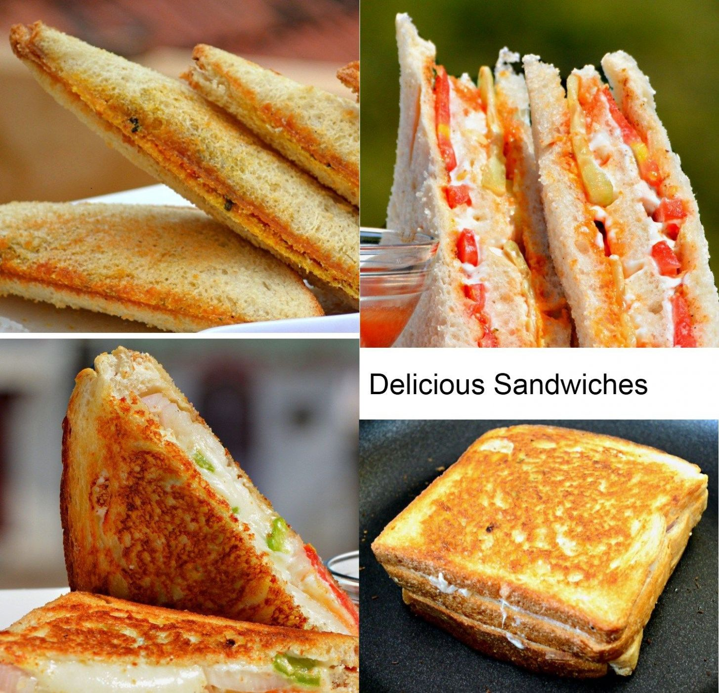 Top 11 Indian Sandwich Recipes | Most Amazing. (With images ..